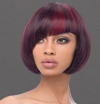 Bright-and-burgundy Sew In Bob Hairstyles To Give You New Looks