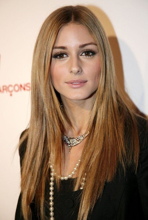 Celebrity-Style-Long-Straight-Hair Most Glamorous Long Straight Hairstyles for Women