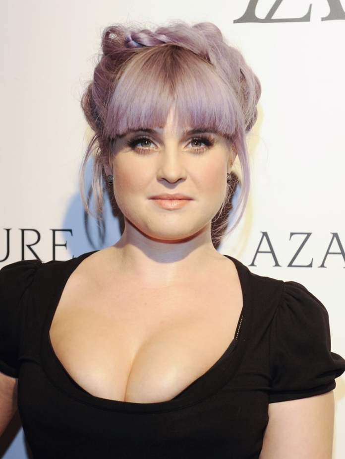 Colorful-Short-Hair-with-Bangs Most Ravishing Hairstyles for Double Chin