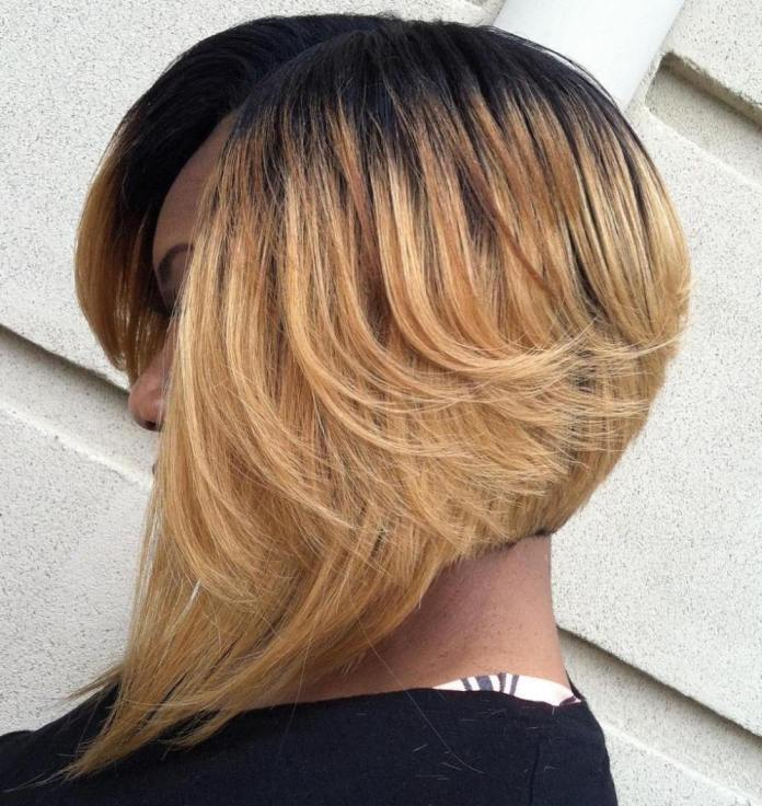 Extreme-Layered-Bob Stunning Ways to Rock a Sew In Bob Hairstyles