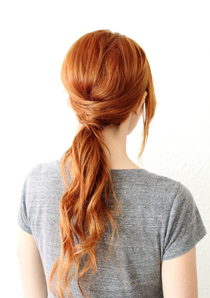 Fiery-Redhead-Hairstyle Cute Homecoming Hairstyles for Astonishing Look