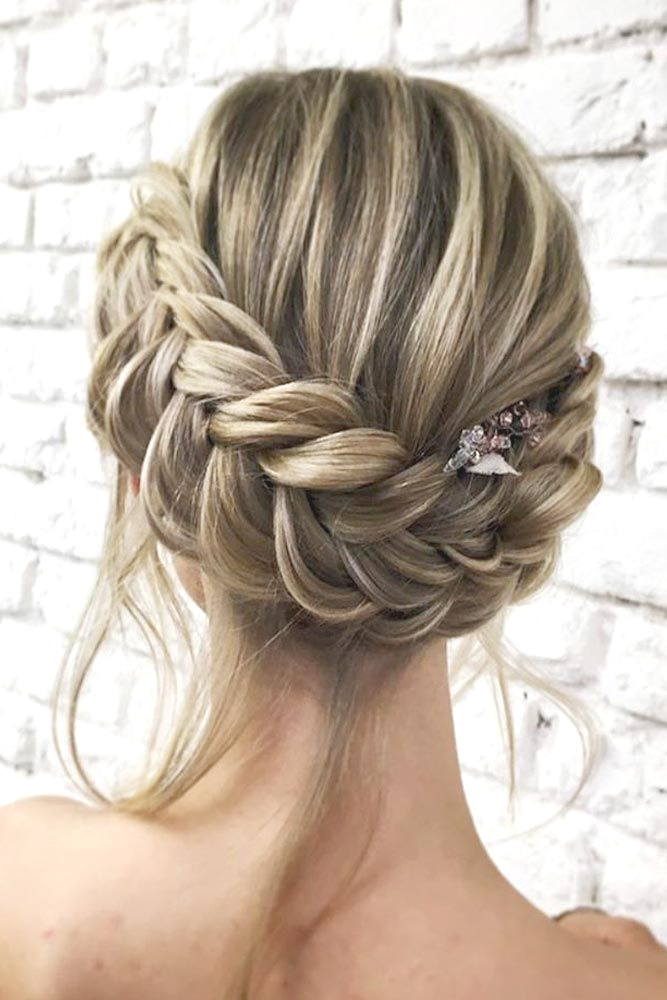 Lace-Braided-Hairstyle Cute Homecoming Hairstyles for Astonishing Look