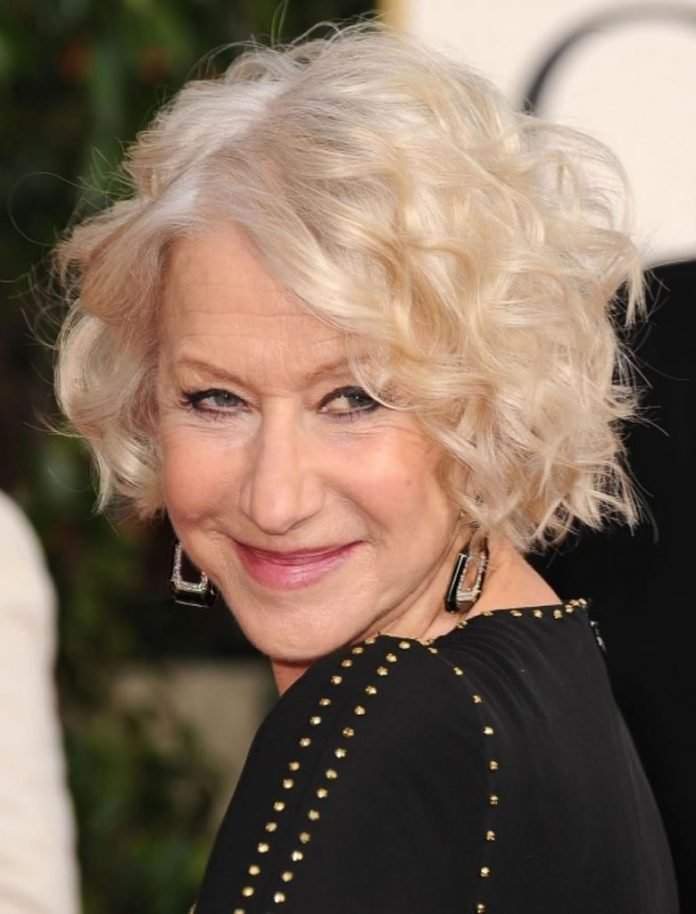 Light-Blonde-Curly-Bob Bob Hairstyles for Women Over 50 – Be Hot And Happening