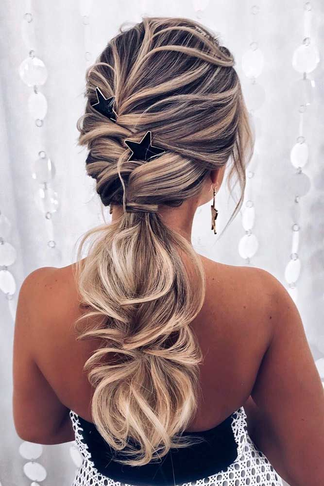 Loosely-Braided-Hair Cute Homecoming Hairstyles for Astonishing Look