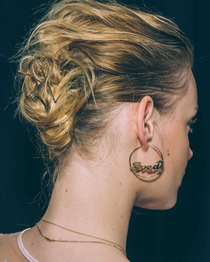 Low-Bun-Wedding-Hairstyle Most Attractive Hairstyles with Hair Pins