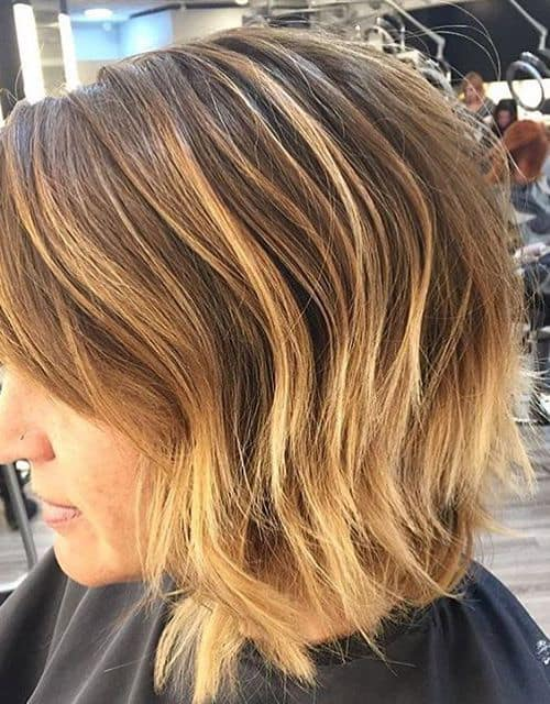 Messy-Bob-with-Choppy-Layers Exotic Messy Bob Hairstyles That Women Love
