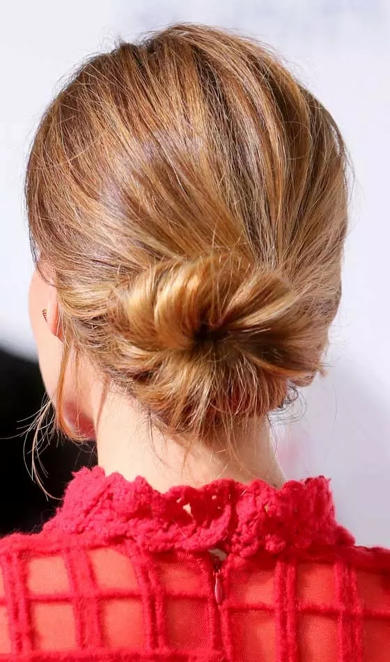 Messy-Bun Veil Bridal Hairstyles For Your Wedding Day