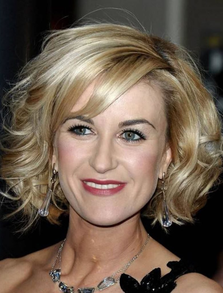 Messy-Curly-Blonde-Bob Bob Hairstyles for Women Over 50 – Be Hot And Happening