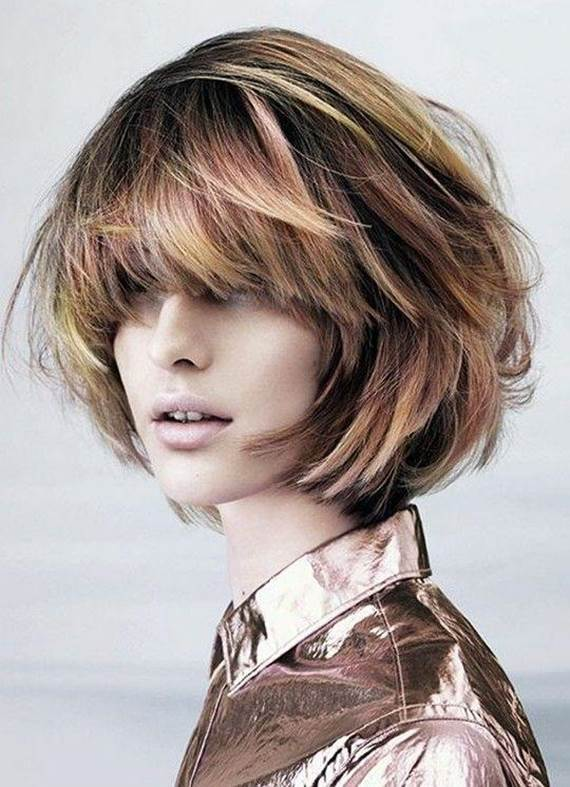 Messy-Textured-Bob Exotic Messy Bob Hairstyles That Women Love