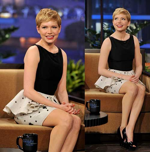 Michelle-Williams-Pixie-Haircut-Style Super Michelle Williams Pixie Haircuts