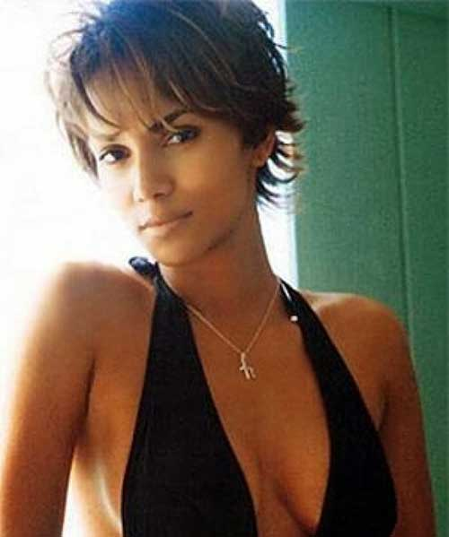 New-Short-Haircut-with-Bangs-for-Black-Ladies New Short Hairstyles With Bangs For Black Women