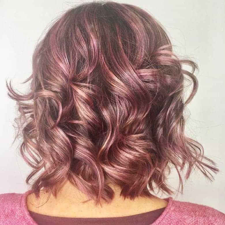 Pink-Bedhead-Bob Exotic Messy Bob Hairstyles That Women Love