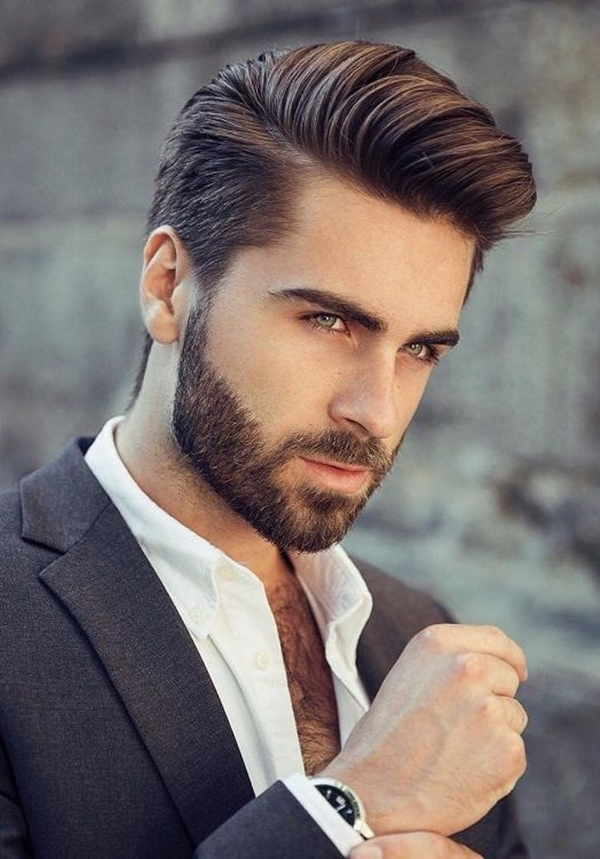 Pompadour-Hairstyle Stylish Wedding Hairstyles for Men