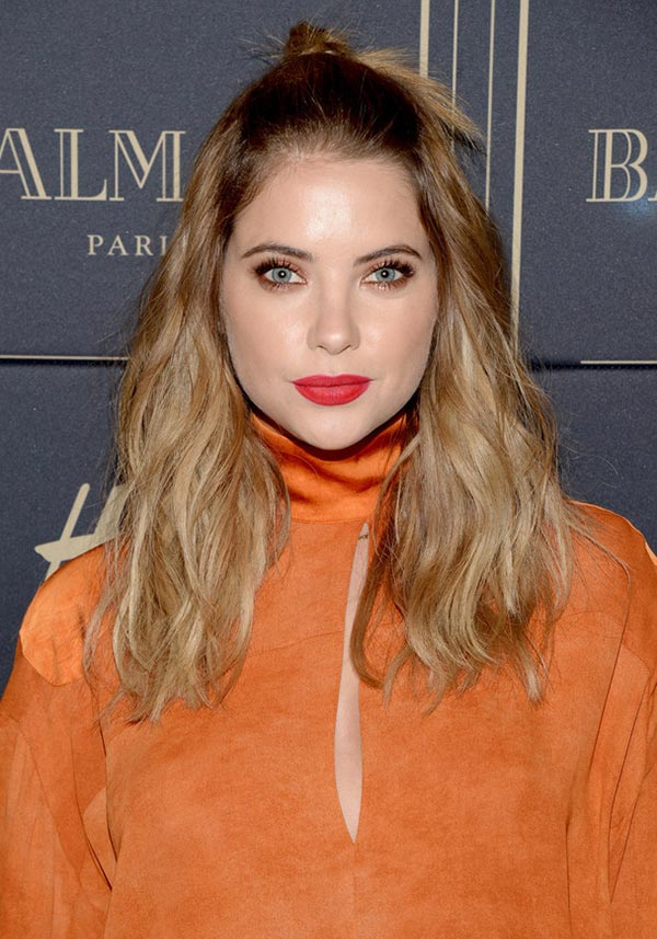 Pony-Knot-and-Open-Hair Hot and Happening Girls Hairstyles for Party