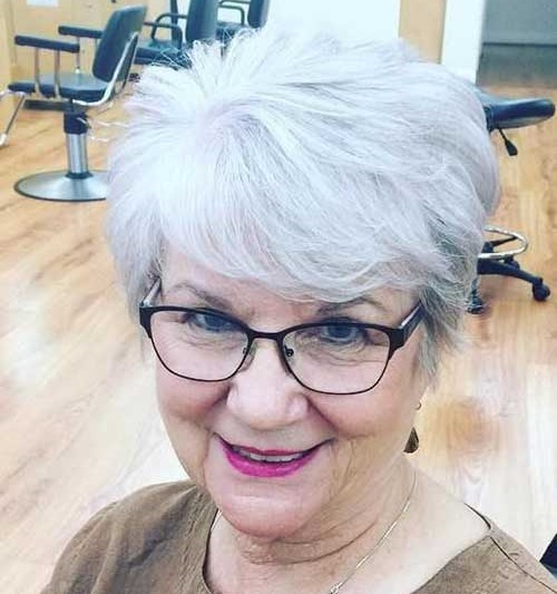 Short-Haircut-for-Older-Women-2019 Short Haircuts for Older Women 2019