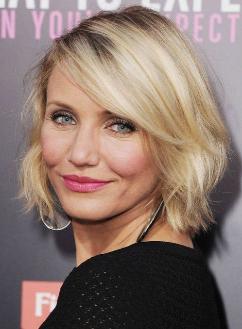 Soft-Layered-Blonde-Bob Bob Hairstyles for Women Over 50 – Be Hot And Happening