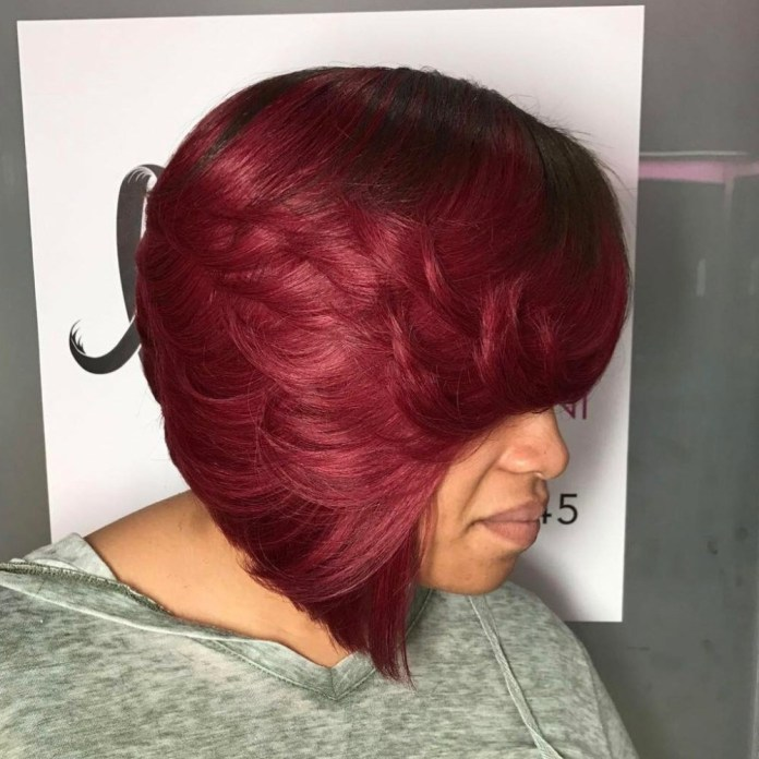 Textured-Short-Chop Stunning Ways to Rock a Sew In Bob Hairstyles