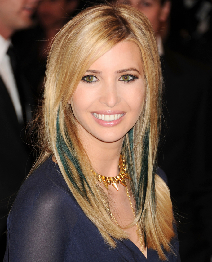 The-Girl-Next-Door-Look Very Attractive Ivanka Trump Hairstyles