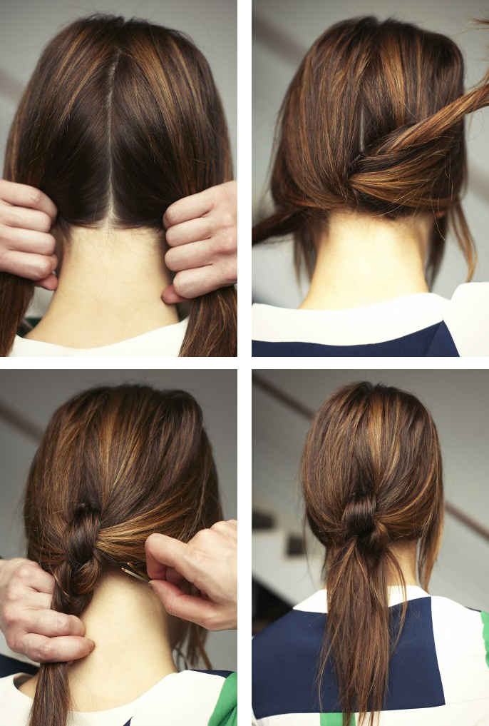 Tie-the-Ponytail Cute Hairstyles for Girls to Look Charismatic