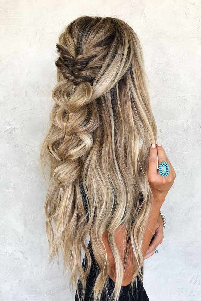 Twisted-Braided-Hair Cute Homecoming Hairstyles for Astonishing Look