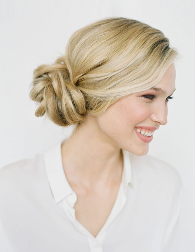 Twisted-Side-Bun Hot and Happening Girls Hairstyles for Party