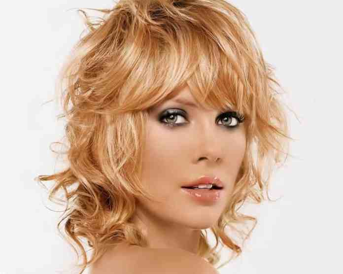 Twisted-Waves-with-Bangs Unbelievably Stylish Flip Hairstyles for Women