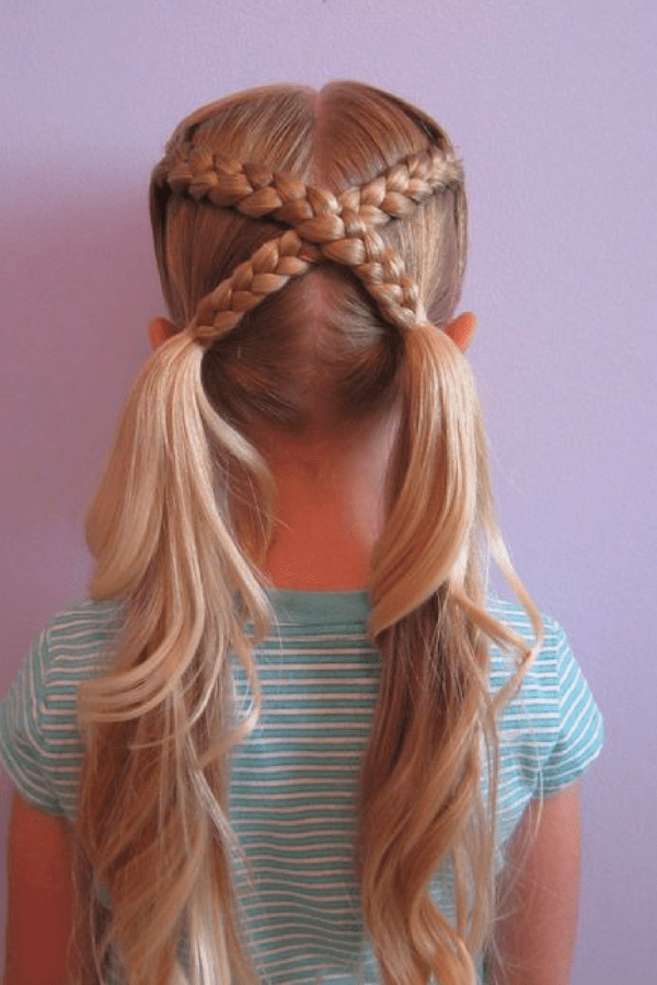 Unique-Braided-Hairstyle Cute Hairstyles for Girls to Look Charismatic
