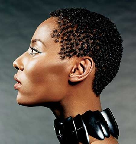 Very-Artistic-and-Unique-Pixie-Cut Short Hairstyles for Black Women 2020