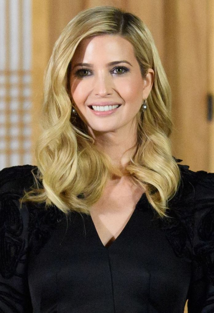 Wavy-Mess Very Attractive Ivanka Trump Hairstyles