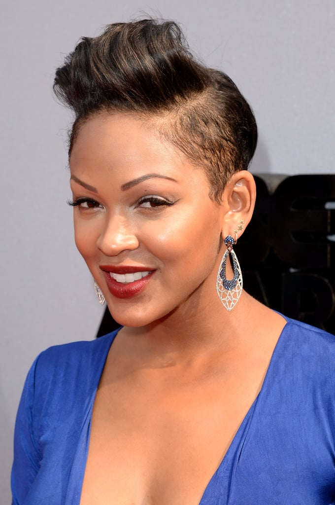 A-Swirly-Puff-at-The-Top-with-Shallow-Side-Hair Short Hairstyles for Black Girls to Look Flawless