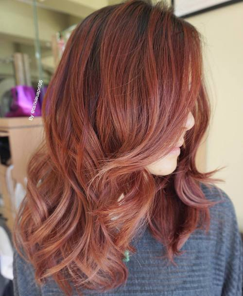 A-Touch-of-Rose-Red Chirmast Time, It's Time To Dye Your Hair Color To Red