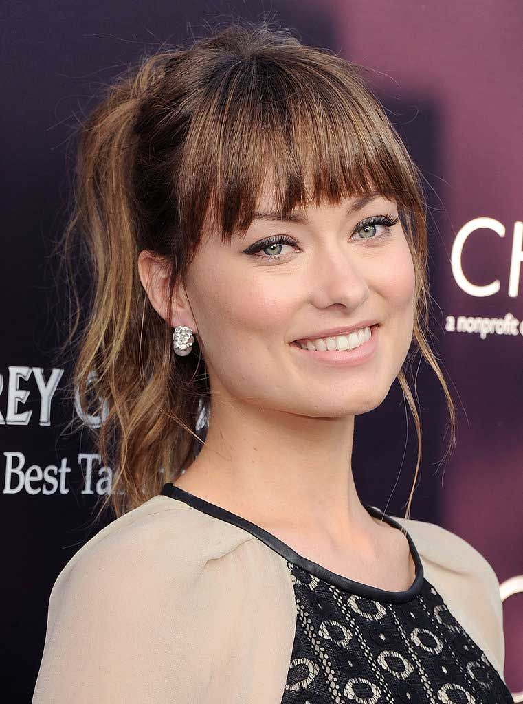 BANGS-FOR-OVAL-FACE2-1 How To Choose The Right Bangs