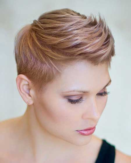Beautiful-Gold-Colored-Hair-Idea Short Hair Colors Ideas 2020