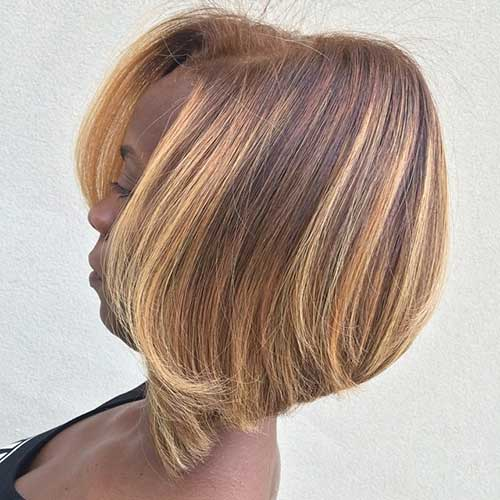 Black-Girl-with-Bob-Hairstyle Black Girl Bob Hairstyles