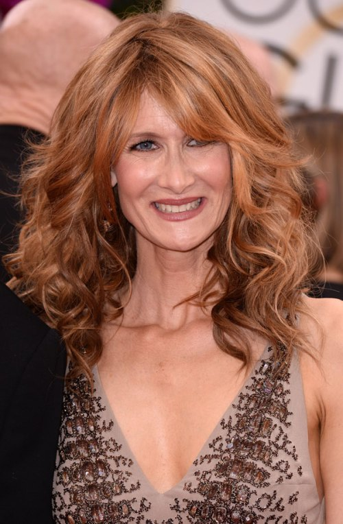 Blonde-Hair-with-Bouncy-Curls Easy Hairstyles for Women Over 50