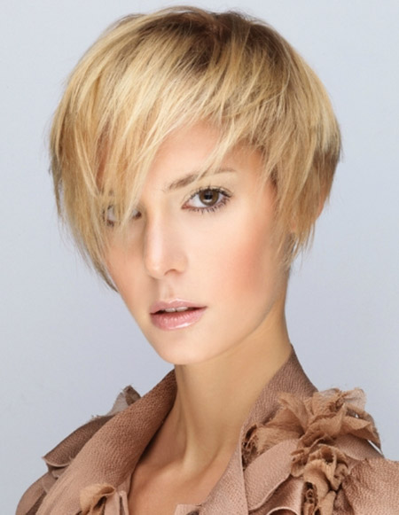 Blonde-Straight-Hair Styles for Short Straight Hair