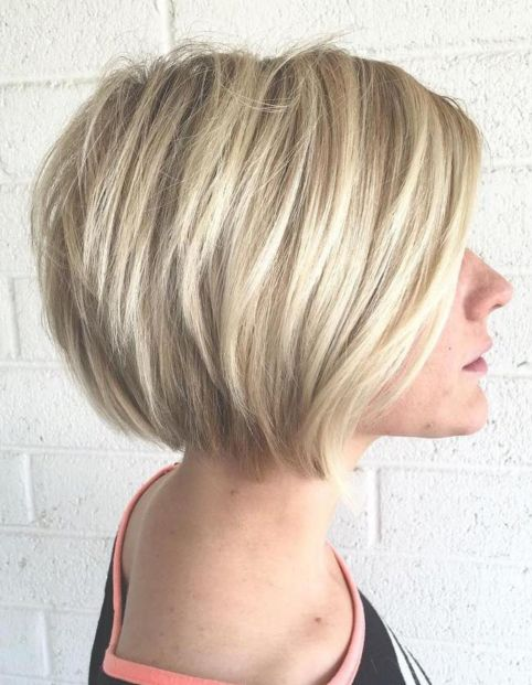 Bright-Blonde-Bob-Cut 12 Glamorous Bob Haircuts for Fine Hair