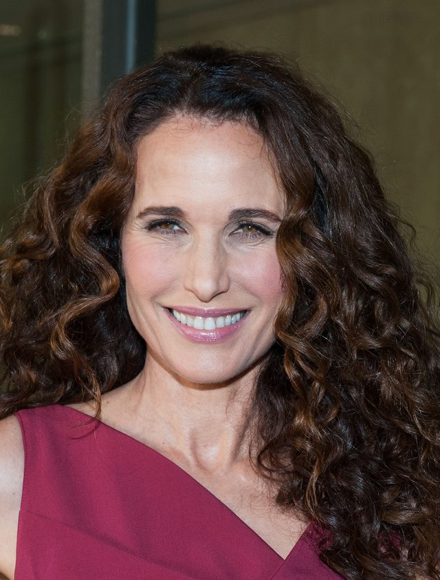 Brunette-Hairstyle-with-Ringlet-Curls Curly Hairstyles for Women Over 50