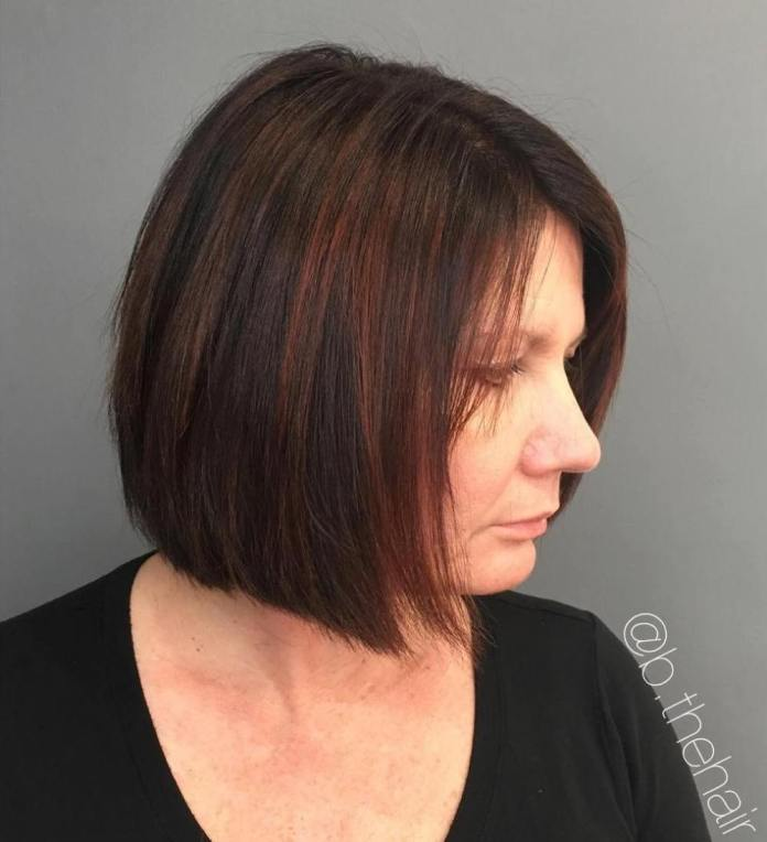 Classic-Short-Bob Gorgeous Hairstyles and Haircuts for Women Over 40
