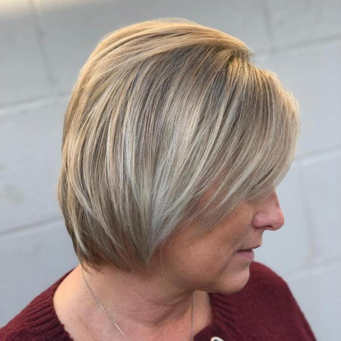 Cropped-and-Cute Gorgeous Hairstyles and Haircuts for Women Over 40