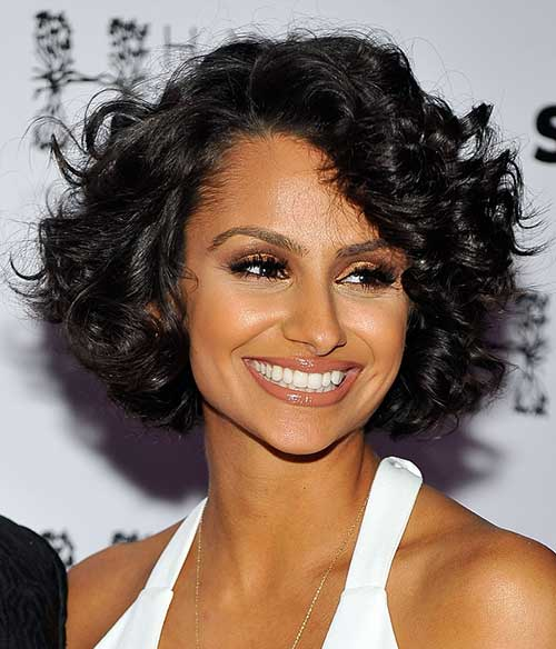 Curly-Bob-Hair 15 On-trend Bob Haircuts For Black Women