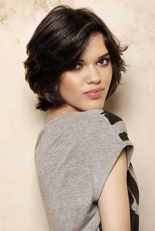 Cute-Messy-Layered-Short-Haircut Short Trendy Hairstyles 2020