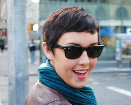 Cute-Short-Pixie-Hairdo-for-Girls Pixie haircuts are undoubtedly the best short haircuts for you
