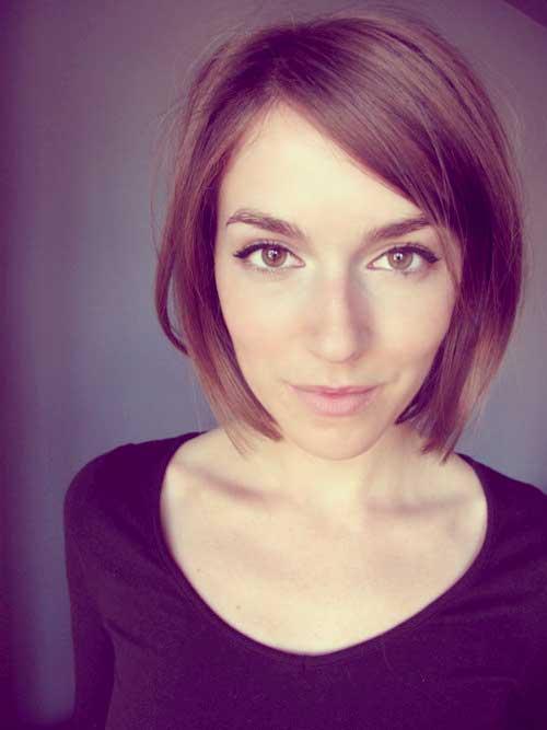 Cute-short-straight-haircuts Best Short Straight Hair for Women