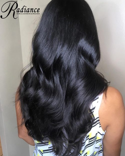 Elongrated-Jet-Black-Tresses 12 eye-catching longhair style