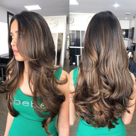 Extra-Long-Layered-Cut-for-Thick-Hair 12 eye-catching longhair style