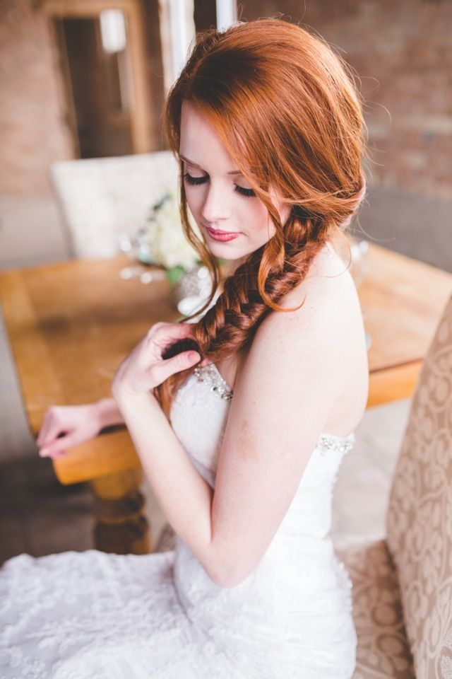 Fishtail-Braided-Hairstyle Redhead Hairstyles for Sultry and Sassy Look