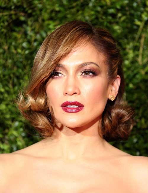 Jennifer-Lopez-cut-her-long Best Celebrity Bob Hairstyles