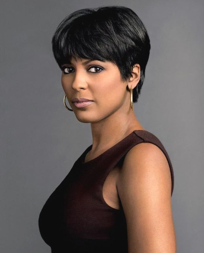 Jet-Black-Bob-Cut-with-Longer-Front-Hair Short Hairstyles for Black Girls to Look Flawless