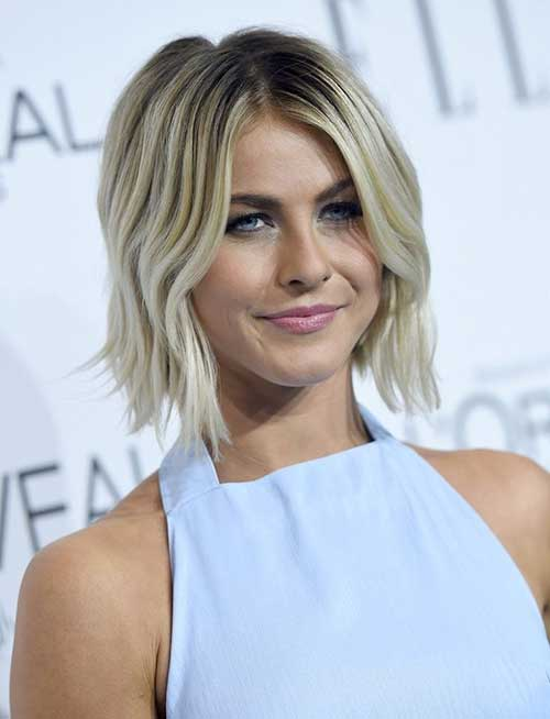 Julianne-Hough's-Trendy-Short-Hairstyle Short Trendy Hairstyles 2020
